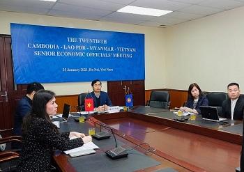 Hội nghị Quan chức kinh tế cấp cao Campuchia – Lào – Mianma – Việt Nam thảo luận kế hoạch hành động CLMV 2021-2022