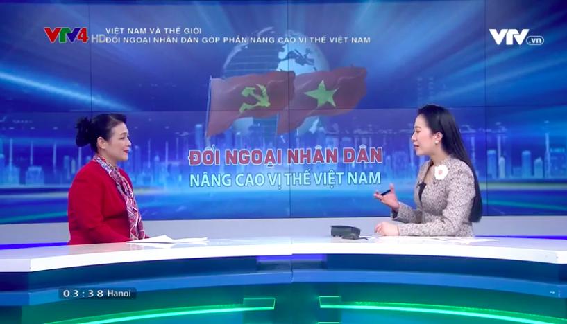 Đối ngoại nhân dân góp phần nâng cao vị thế Việt Nam