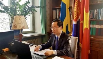 Việt Nam mong muốn thúc đẩy hợp tác với Thụy Điển về đổi mới sáng tạo, phát triển bền vững