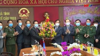 Vun đắp quan hệ Bôlykhămxay và Hà Tĩnh thành điển hình về hợp tác hữu nghị Việt  – Lào