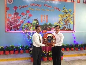 Năm 2020: doanh nghiệp luôn chia sẻ, đóng góp cho công tác cứu trợ bà con gốc Việt tại Campuchia