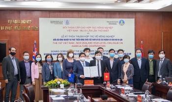 New Zealand và Việt Nam đẩy mạnh hợp tác trong lĩnh vực nông nghiệp
