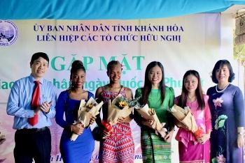 40 đại biểu nữ là người nước ngoài tại Khánh Hòa gặp gỡ, giao lưu nhân ngày Quốc tế phụ nữ