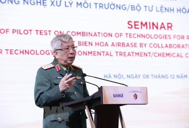 Thanh qua hop tac Viet Nam-Hoa Ky trong xu ly o nhiem dioxin hinh anh 1