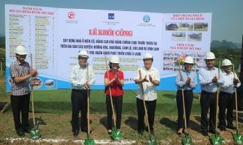 Quảng Trị: Khởi công xây dựng 106 nhà ở phòng tránh thiên tai cho hộ nghèo