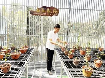 Trần Khánh Mãi: Chàng trai sở hữu vườn lan giá trị nhờ theo đuổi đam mê