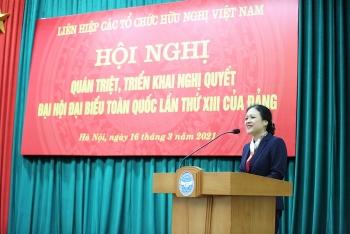 VUFO tổ chức quán triệt, triển khai Nghị quyết Đại hội XIII của Đảng: Hiểu đúng, hiểu sâu và khẩn trương, nghiêm túc tổ chức triển khai