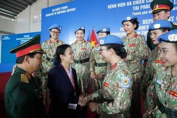 Bệnh viện dã chiến cấp 2 số 3 lên đường đến Nam Sudan: Mang văn hoá Việt Nam giao lưu với bạn bè quốc tế