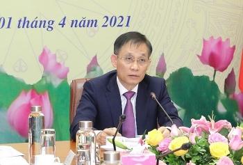 Thông tin về kết quả Đại hội Đảng lần thứ XIII của Việt Nam tới Đảng NDCM Lào