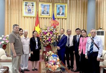 VUFO, Hội hữu nghị Việt Nam - Campuchia chúc Tết cổ truyền Chol Chnam Thmay Campuchia