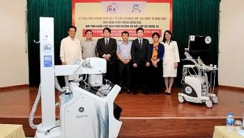 JICA hỗ trợ thiết bị phòng, chống dịch COVID-19 trị giá gần 11 tỷ đồng cho Bệnh viện Trung ương Huế