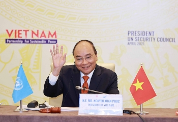 Chủ tịch nước Nguyễn Xuân Phúc: Lòng tin và đối thoại chính là giải pháp căn cơ cho một nền hòa bình bền vững
