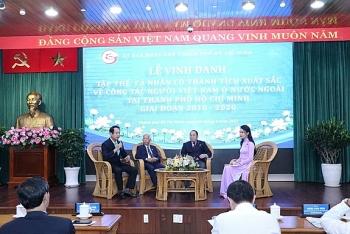 TP.HCM vinh danh 50 tập thể, cá nhân xuất sắc trong công tác người Việt ở nước ngoài