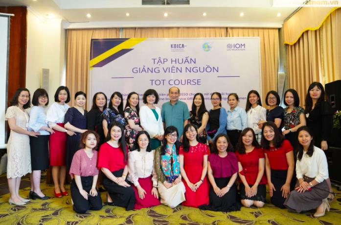 Nâng cao kỹ năng tham vấn, hỗ trợ phụ nữ di cư hồi hương cho cán bộ Hội LHPN 5, tỉnh thành phố