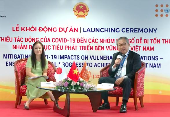 Dự án hợp tác mới của Nhật Bản giúp Việt Nam hỗ trợ nhóm dân số yếu thế và dễ bị tổn thương vì COVID-19