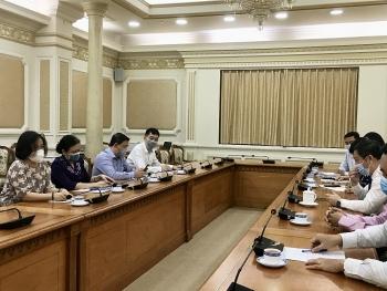 VUFO trao đổi thông tin về đối ngoại nhân dân với UBND TP. Hồ Chí Minh