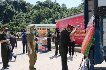 Thừa Thiên Huế, Quảng Trị, Nghệ An an táng hài cốt liệt sĩ hy sinh tại Lào