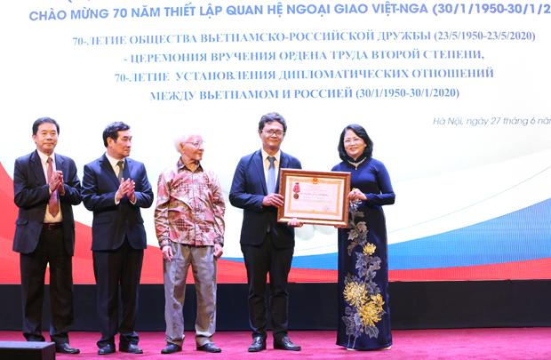 Nhiều hoạt động trực tuyến được tổ chức nhân kỷ niệm 71 năm ngày truyền thống Hội Hữu nghị Việt-Nga
