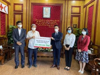 Hội Hữu nghị Việt Nam - Ấn Độ ủng hộ người dân Ấn Độ 231 triệu đồng