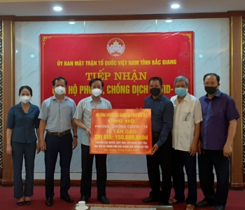 Hội đồng hương Bắc Giang tại Cộng hòa Séc hướng về tâm dịch Bắc Giang