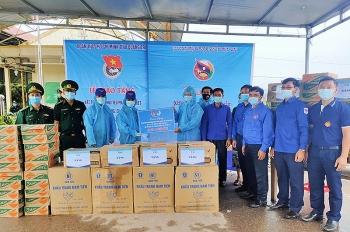 Quảng Trị hỗ trợ vật tư y tế phòng, chống dịch cho 2 tỉnh Savannakhet và Salavan (Lào)