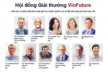Giới khoa học toàn cầu trên 60 quốc gia, 6 châu lục tranh giải VinFuture