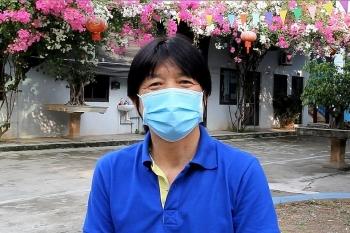 Ông Hitoshi Mukai - chuyên gia Nhật Bản tình nguyện tham gia đội hỗ trợ nhân viên y tế Bắc Giang