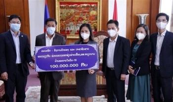 Tỉnh Vientiane (Lào) ủng hộ Hải Dương 10.000 USD phòng, chống COVID-19