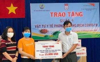 World Vision Việt Nam hỗ trợ TP.HCM hơn 365 triệu đồng để vượt qua đại dịch COVID-19