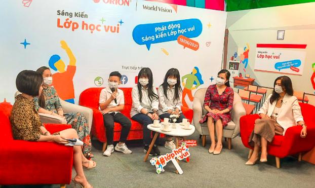 World Vision Việt Nam triển khai sáng kiến Lớp học vui góp phần giải quyết vấn đề bạo lực trẻ em trong trường học