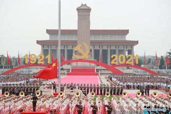 VUFO, Hội hữu nghị Việt Nam – Trung Quốc chúc mừng 100 năm ngày thành lập ĐCS Trung Quốc