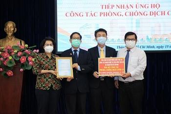 Lãnh sự quán các nước ủng hộ kinh phí phòng, chống dịch COVID-19 tại TP Hồ Chí Minh