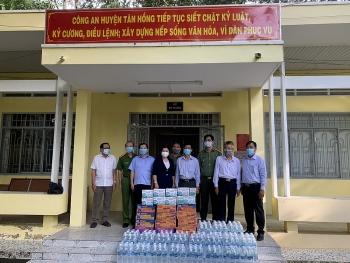 Liên hiệp Hữu nghị Đồng Tháp, Đồng Nai, Bình Dương hỗ trợ hội viên và bạn bè quốc tế chống dịch COVID-19