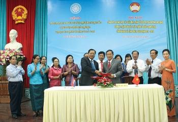 Tăng cường hợp tác giữa An Giang với các địa phương của Campuchia