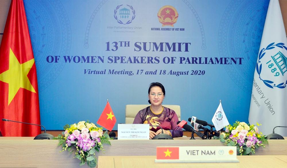 Chủ tịch Quốc hội Nguyễn Thị Kim Ngân: Việt Nam đã thông qua nhiều văn bản luật nhằm bảo vệ và thúc đẩy trao quyền của phụ nữ
