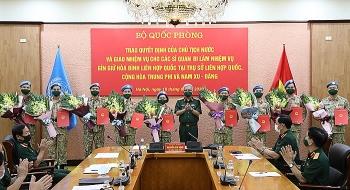 Việt Nam cử thêm 10 sĩ quan làm nhiệm vụ Gìn giữ hòa bình Liên hợp quốc