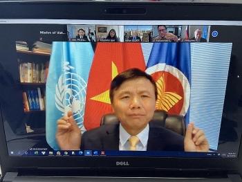 Việt Nam chủ trì đối thoại giữa ASEAN và Chủ tịch Đại hội đồng Liên hợp quốc
