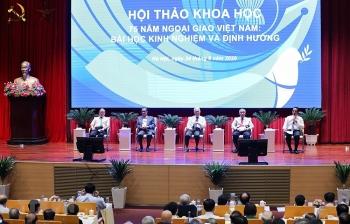 75 năm ngoại giao Việt Nam: Đồng hành cùng dân tộc, phụng sự Tổ quốc, phục vụ nhân dân