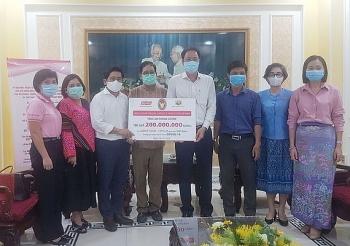 Lãnh sự quán Thái Lan tại TP.HCM ủng hộ công tác phòng, chống dịch COVID-19
