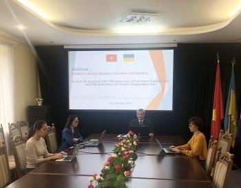 Phát huy vai trò của nhóm Nghị sĩ Hữu nghị Ucraina-Việt Nam thúc đẩy quan hệ hai nước
