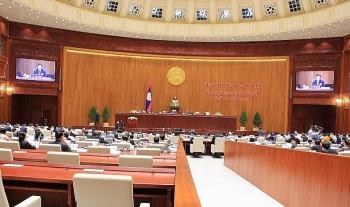Bộ Xây dựng tổ chức nghiệm thu công trình Nhà Quốc hội Lào