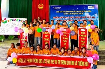 Trẻ em Thanh Hoá chia sẻ sáng kiến chấm dứt bạo lực trong gia đình và trường học