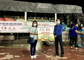 HUFO hỗ trợ người dân TP.HCM và lưu học sinh Lào, Campuchia chống dịch COVID-19
