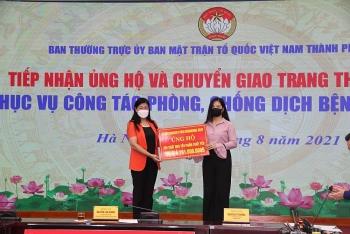 Các tổ chức phi chính phủ, Việt kiều, Đại sứ quán nước bạn ủng hộ Hà Nội chống dịch Covid-19