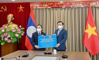 Hà Nội hỗ trợ Thủ đô Viêng Chăn và một số địa phương của Lào phòng, chống dịch COVID-19