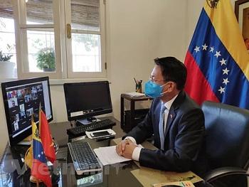 Việt Nam và Venezuela xúc tiến hợp tác trong lĩnh vực y tế phòng chống COVID-19