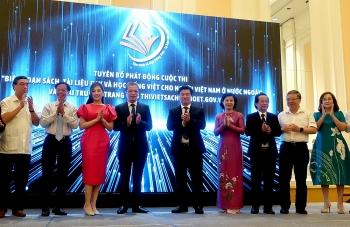 Bộ Giáo dục và Đào tạo phát động Cuộc thi biên soạn sách dạy và học tiếng Việt cho người Việt ở nước ngoài