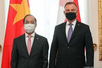 Tổng thống Ba Lan đánh giá cao những đóng góp của cộng đồng người Việt tại Ba Lan