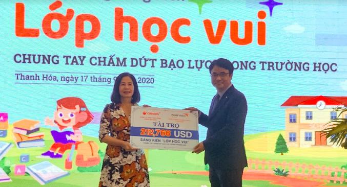 World Vision Việt Nam: giúp 10.000 học sinh nâng cao nhận thức về vấn đề bạo lực trong trường học