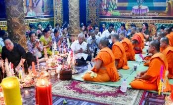 Đồng bào Khmer tại Sóc Trăng đón Lễ Sene Đôn Ta gọn nhẹ, an toàn